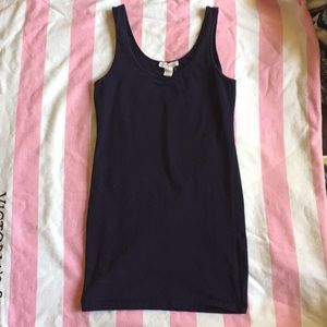 Navy Body-con mini Dress